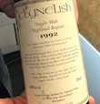 Clynelish 1992 10yo Ob. for Tanners Wines 45%.jpeg