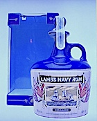Lamb's Navy Rum (1980s) Ob. 'HMS Warrior' ceramic decanter 40% [750ml].jpeg