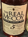 The Real McCoy 5yo [2019] Ob. Single blended rum batch #0516 40%.jpeg