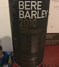 Bruichladdich Bere Barley 2010:2019 8yo Ob. American oak casks 50%.jpeg