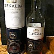 Glenalba 1990:2015 25yo Blended Scotch 'Sherry casks finish' Lidl [24000 bts] 40%