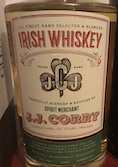 J. J. Corry The Gael [Summer 2017] Ob. Irish Whiskey 46% [750ml].jpeg