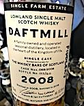 Daftmill 2008:2019 Ob. The Whisky Bars of Scotland cask #068 [btl #125:160] 55.5%.jpeg