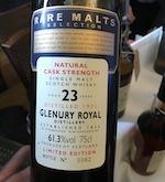 Glenury Royal 1971 23yo Ob. Rare Malts [btl #3302] 61.3% 75cl