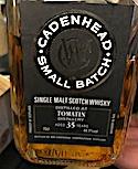 Tomatin 1978:2013 35yo Cadenhead Small Batch [594 bts] 44.1%