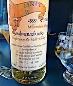 Balmenach 1980:1999 The Malt Whisky Association 'Hogmanay Dram' [btl #94:100] 43%