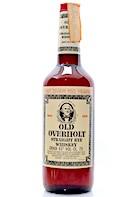 Overholt 4yo [1980's] Straight Rye Whiskey Ob.Soffiantino Import 86 proof:43degrees [75cl].JPG