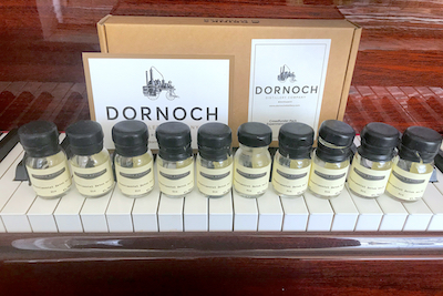 Dornoch gin flight