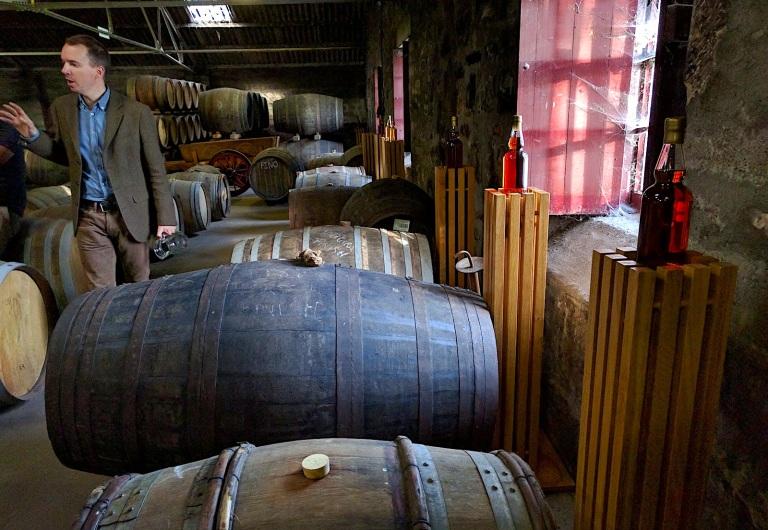 Glen Moray warehouse Iain
