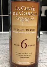 Glenglassaugh 2012:2019 6yo for Franck Debernardi 'La Cuvee de Cobalt' Octave cask #SC89 [65 bts] 57%