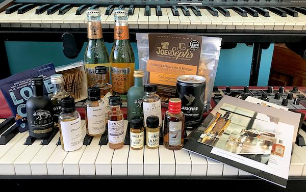 Summerton Virtual Whisky Festival flight